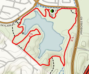 Peters Canyon Lake View Trail [CLOSED] Map
