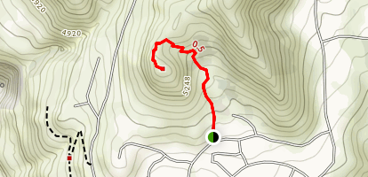 Ensign Peak Trail and Overlook Map
