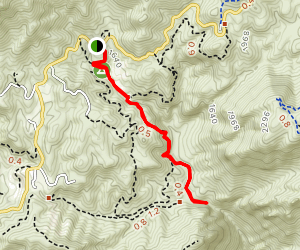 Grotto Trail Map