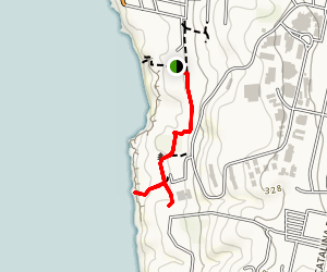 Sunset Cliffs Park Trail Map