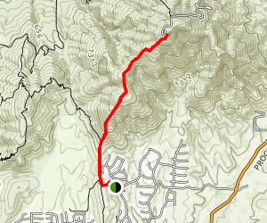 San Miguel Mountain Trail [PRIVATE PROPERTY/CLOSED] Map