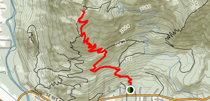 Mount Si Trail Map