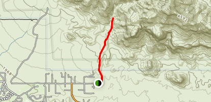 Hieroglyphic Trail Map