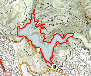 Lake Chabot Trail  Map
