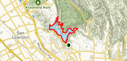 Lake Chabot: West Shore, B Cove, Columbine, Honker Bay ... on contra loma map, caldwell map, las trampas map, diablo valley map, hartnell map, cull canyon map, santiago canyon map, quarry lakes map, allan hancock map, carroll map, frank's map, cal university map, los medanos map, berkeley city map, cosumnes river map,