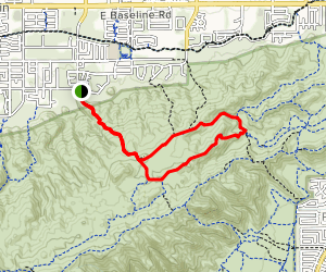 Mormon Loop Trail Map