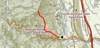 Mount Morrison East Face Trail Map