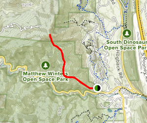 Mount Morrison South Ridge Trail Map