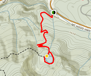 Mirror Lake Loop Trail Map