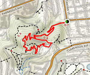 Mount Sutro Loop Map