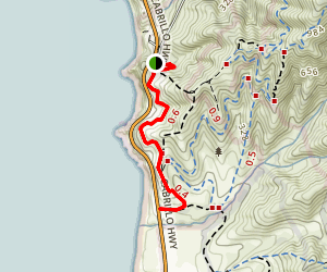 Gray Whale Cove Trail Map