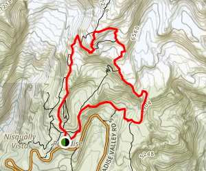 Skyline Loop Trail Map