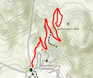 Sonoma Overlook Trail Map