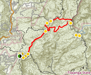 Eagle Springs Loop Trail Map