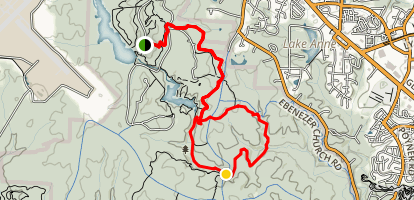 Sycamore Trail Map
