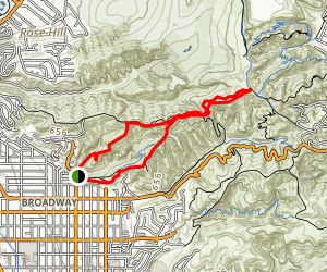 Hellman Trails Map