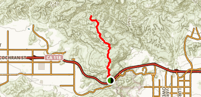 Rocky Peak Trail Map