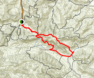Miner's Trail Map