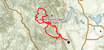 Belcher Hill Trail Map