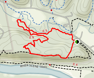Lone Wolf Trail Map