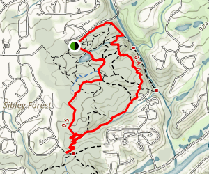 Sope Creek Trail Map