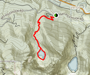 Heather Lake Trail Map