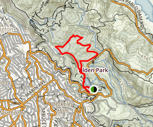 Tilden Wildcat Gorge Map