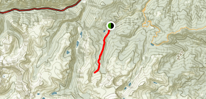Hells Hole Trail Map