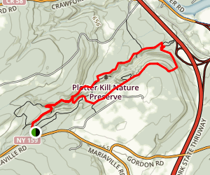 Plotter Kill Preserve Trail Map