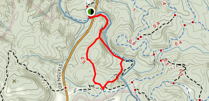 Triple Falls Trail Map