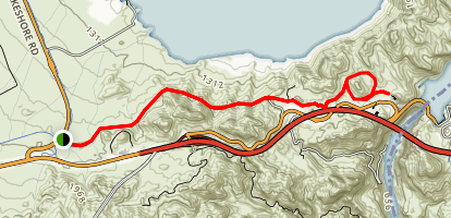 Railroad Tunnel Trail Map