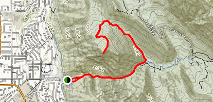 Squaw Peak Trail Map