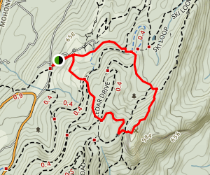 Bonticou Crag Trail Map