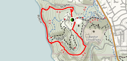 Saint Edward State Park and Big Finn Hill King County Park Trail Map