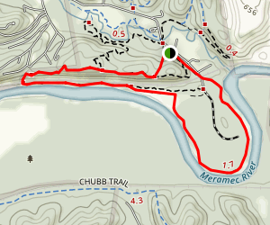 River Scene Trail Loop Map