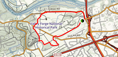 Joseph Plumb Martin Trail Map
