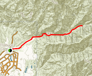 Trabuco Creek Road [CLOSED] Map