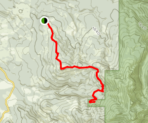 Tarbell Trail to Hidden Falls Map