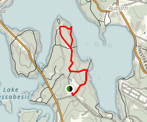 Lake Massabesic Trail Map