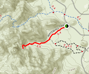Waterfall Trail Map