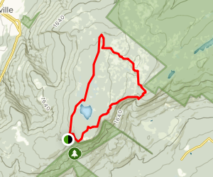 Sam's Point and Verkeerderkill Falls Trail Map