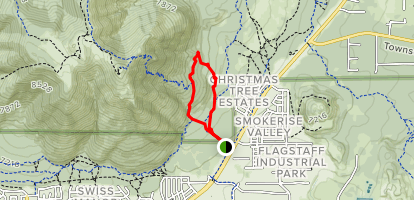 Fatmans Loop Trail Map