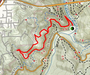 Stagecoach Trail Map