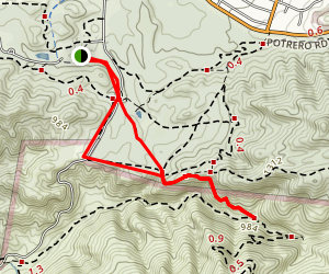Sycamore Canyon Falls Map