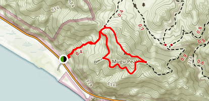 Mugu Peak Trail Map