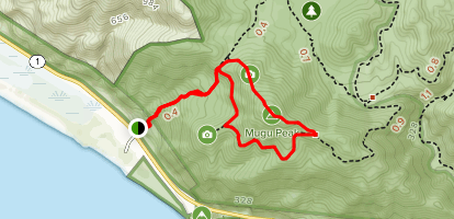 Point Mugu California Map.Mugu Peak Trail California Alltrails