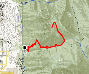 """The """"Y"""" Mountain Trail Map"""
