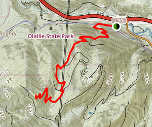 Mount Washington Trail Map