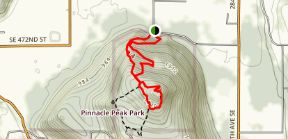 Cal Magnusson Trail Map