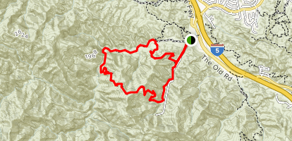 Towsley Canyon Loop Trail Map